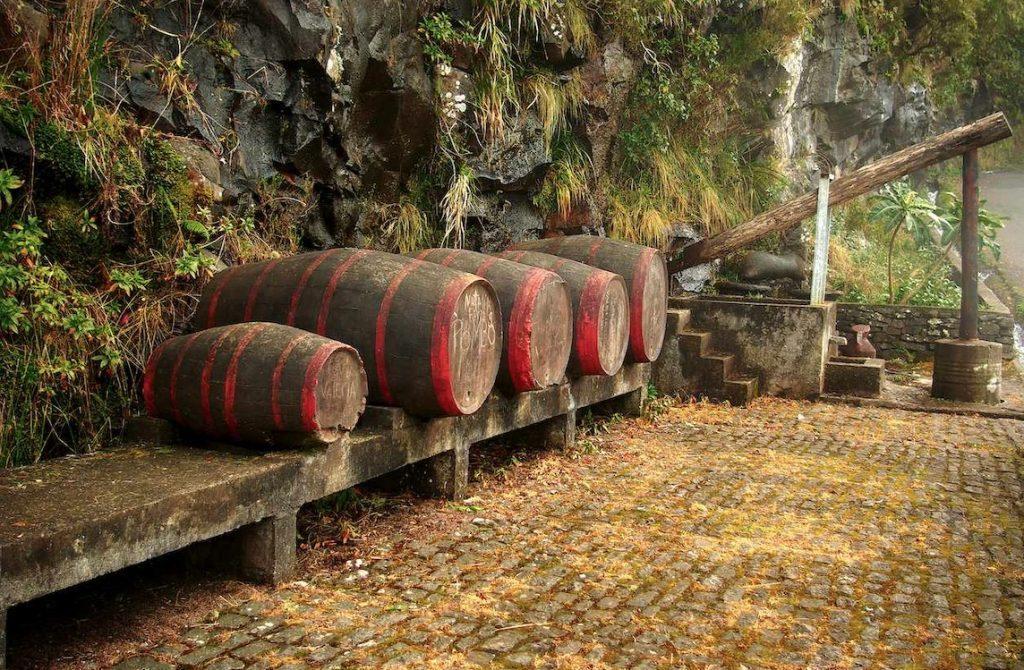 Fässer mit Madeira