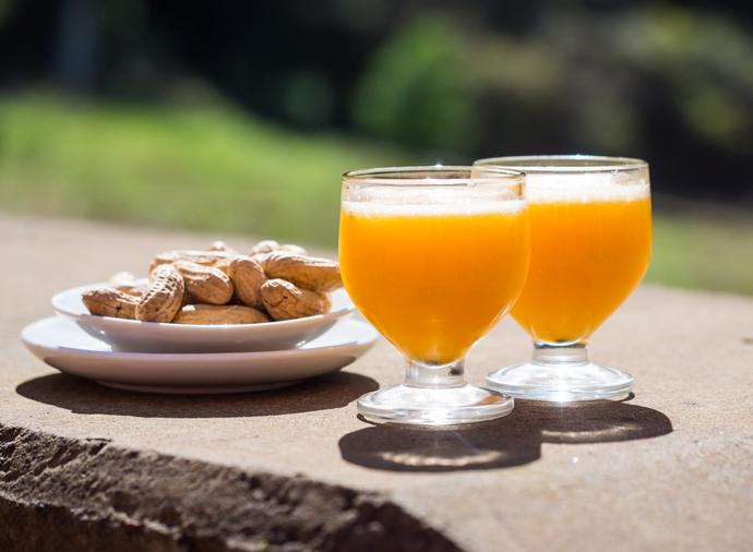 Poncha das Traditionsgetränk auf Madeira