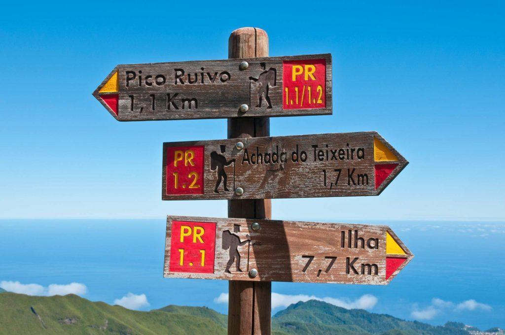 Wanderwege in Madeiras Gebirge