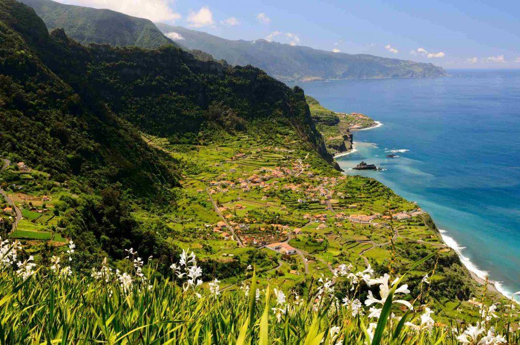 Terrassenfelder auf Madeira