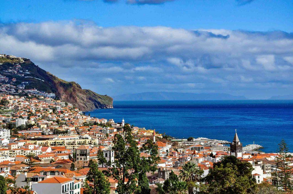 Blick über die Bucht von Funchal